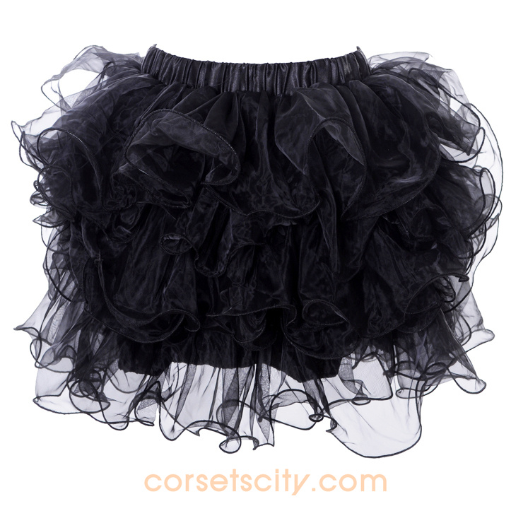 Black Mini Skirt HP5737