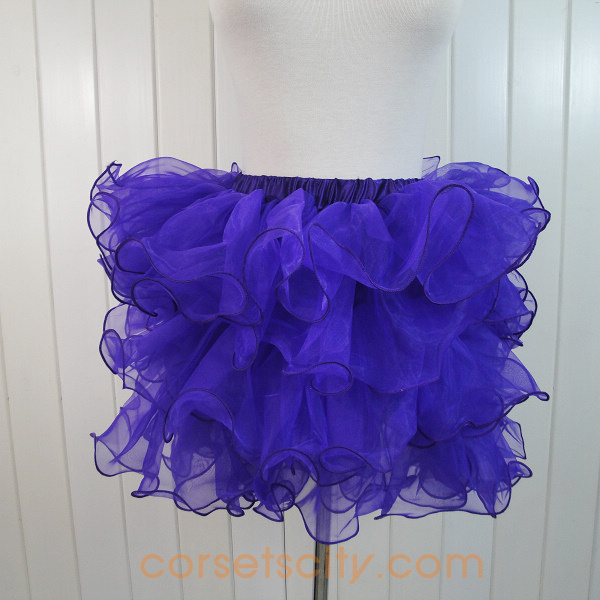 Blue Organza Skirt HP5738